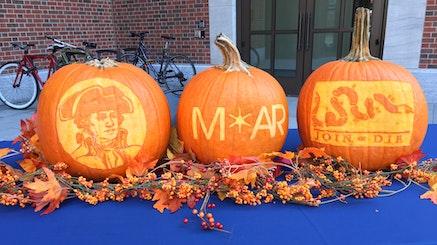MoAR Carved Pumpkins