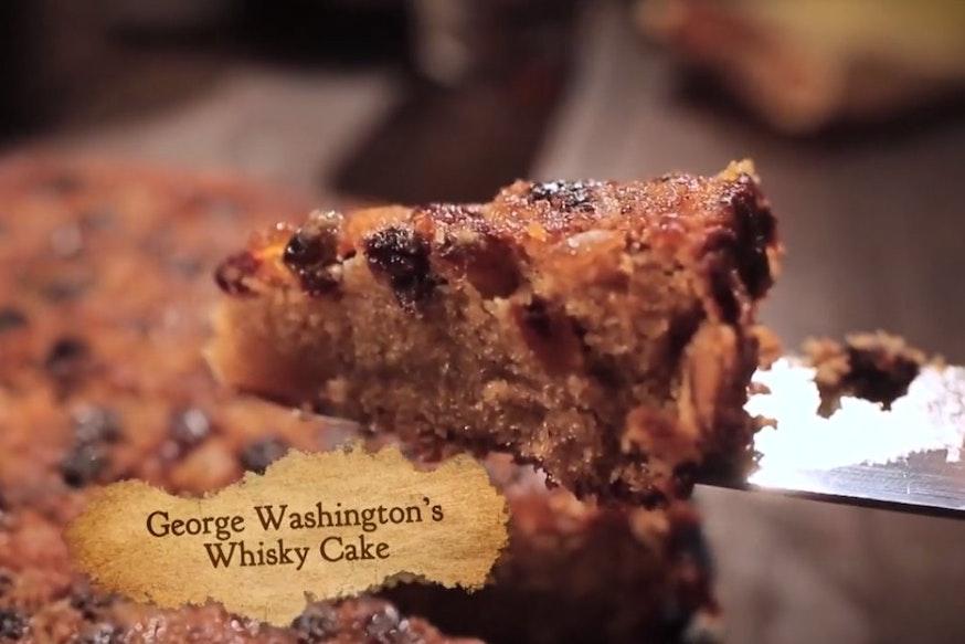 George Washington's Whiskey Cake