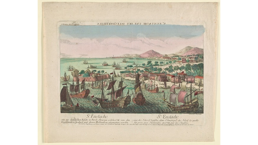 Netherlands Around The World St Eustatius Caribbean Loc