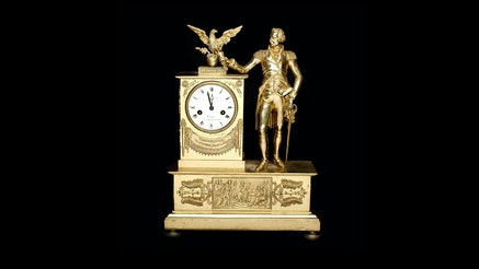 Image 091120 George Washington Mantel Clock Collection Washingtonmantelclock