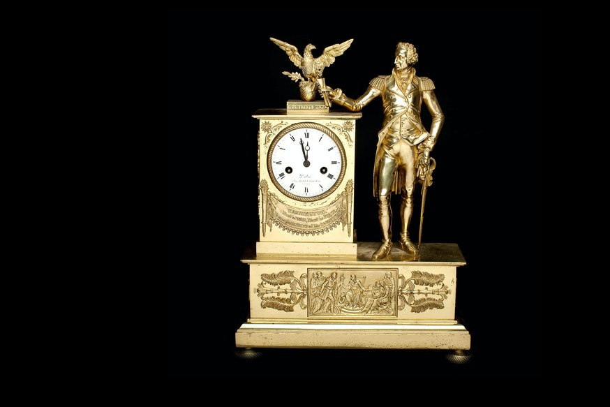 Image 091120 George Washington Mantel Clock Collection Washingtonmantelclock