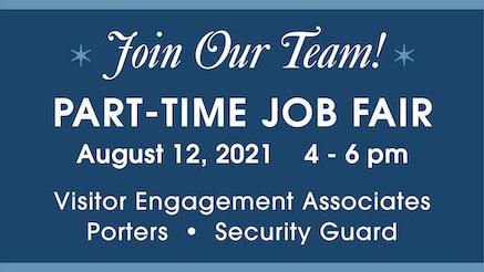 Part Time Job Fair August 2021