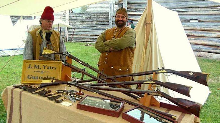 Image 110520 Mitch Yates Gunmaker Artisan Field Trip