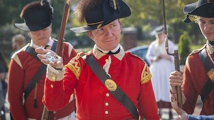 Occuppied Philadelphia Redcoat
