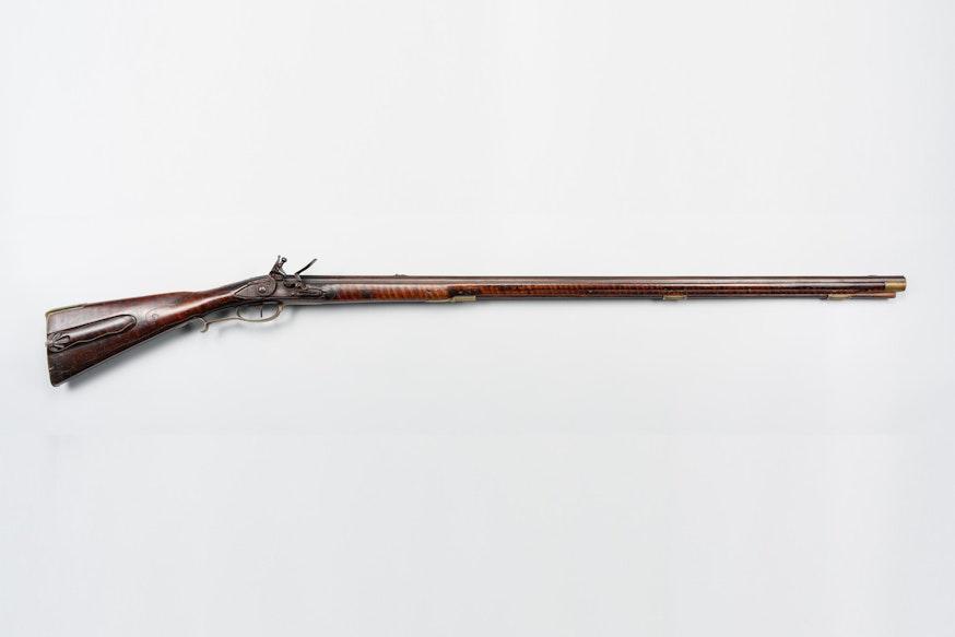 Johann Cristian Oerter rifle from the Museum's Benninghoff collection
