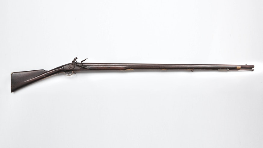 Musket Made by Thomas Palmer